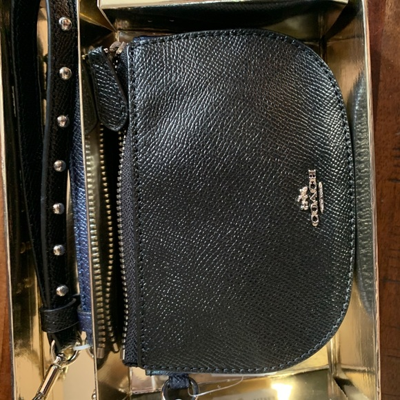 Brand new in box Coach Wristlet Card Holder